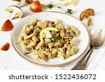 Fusilli Paste With Mushrooms...