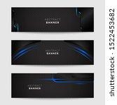 banner web design  abstract... | Shutterstock .eps vector #1522453682