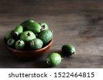 Feijoa. Berries Of The Guava...