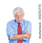 closeup portrait of an angry ... | Shutterstock . vector #152251772