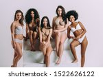 group of women with different... | Shutterstock . vector #1522626122