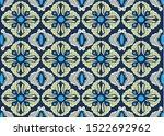 indonesian batik motifs with...   Shutterstock .eps vector #1522692962