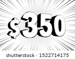 350  three hundred fifty price... | Shutterstock .eps vector #1522714175