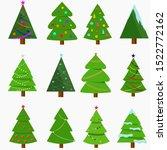 vector illustration  a set of...   Shutterstock .eps vector #1522772162