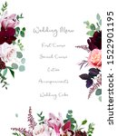 luxury fall flowers vector... | Shutterstock .eps vector #1522901195