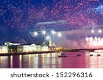salute over neva river   Shutterstock . vector #152296316