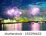 salute over neva river   Shutterstock . vector #152296622