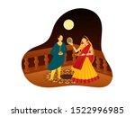 vector illustration of man and... | Shutterstock .eps vector #1522996985