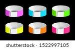 vector set of luminous neon...   Shutterstock .eps vector #1522997105