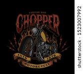 Chopper Custom Bike Style...