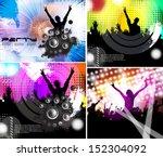 illustration of rock star... | Shutterstock .eps vector #152304092