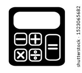 calculator icon vector design...