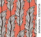 elegant seamless pattern with... | Shutterstock . vector #152316716