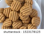 Pile Of Peanut Butter Biscuits...