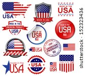 america,american,badge,banner,blue,business,collection,design,element,emblem,flag,graphic,guarantee,icon,illustration