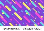 mega set of memphis design...   Shutterstock .eps vector #1523267222