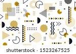 mega set of memphis design... | Shutterstock .eps vector #1523267525