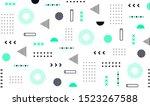 mega set of memphis design... | Shutterstock .eps vector #1523267588
