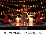 Romantic Table Setting With...