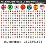 all national flags of the world ... | Shutterstock .eps vector #1523541635