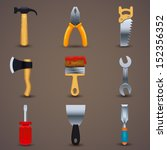 vector illustration of icon... | Shutterstock .eps vector #152356352