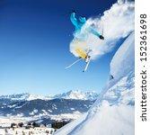 jumping skier | Shutterstock . vector #152361698