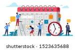 people planning concept.... | Shutterstock .eps vector #1523635688