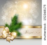 christmas background with...   Shutterstock .eps vector #152368175