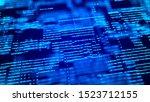 abstract digital background....   Shutterstock . vector #1523712155