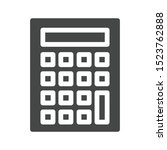 calculator icon isolated on...