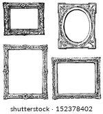 hand drawn frames | Shutterstock . vector #152378402