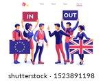 uk concept united kingdom... | Shutterstock .eps vector #1523891198