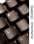 computer keyboard   Shutterstock . vector #15238942