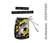 you are my universe. modern...   Shutterstock .eps vector #1523974205