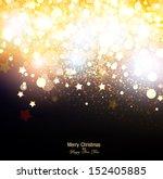 elegant christmas background... | Shutterstock .eps vector #152405885