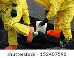 these hazmat team members have...   Shutterstock . vector #152407592