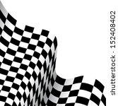 checkered race flag | Shutterstock .eps vector #152408402