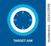 target aim icon  vector target...   Shutterstock .eps vector #1524115598