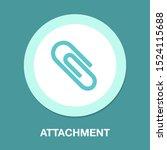 Paper Clip Attachment Icon  ...