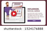 social media and their...   Shutterstock . vector #1524176888