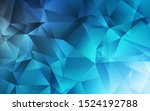 light blue vector polygonal...   Shutterstock .eps vector #1524192788