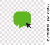 speech bubble icon sign and...