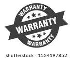 warranty stamp. warranty black...   Shutterstock .eps vector #1524197852