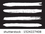 grunge brush strokes.hand drawn ... | Shutterstock .eps vector #1524227408