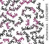 dark pink vector seamless...   Shutterstock .eps vector #1524238895