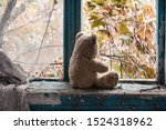 An Abandoned Teddy Bear Sits By ...