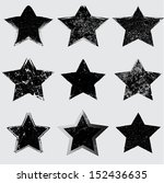 grunge shapes | Shutterstock .eps vector #152436635