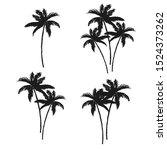 beautiful tropical vintage...   Shutterstock .eps vector #1524373262