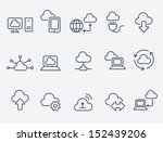 cloud computing | Shutterstock .eps vector #152439206