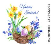 Easter Card With The...